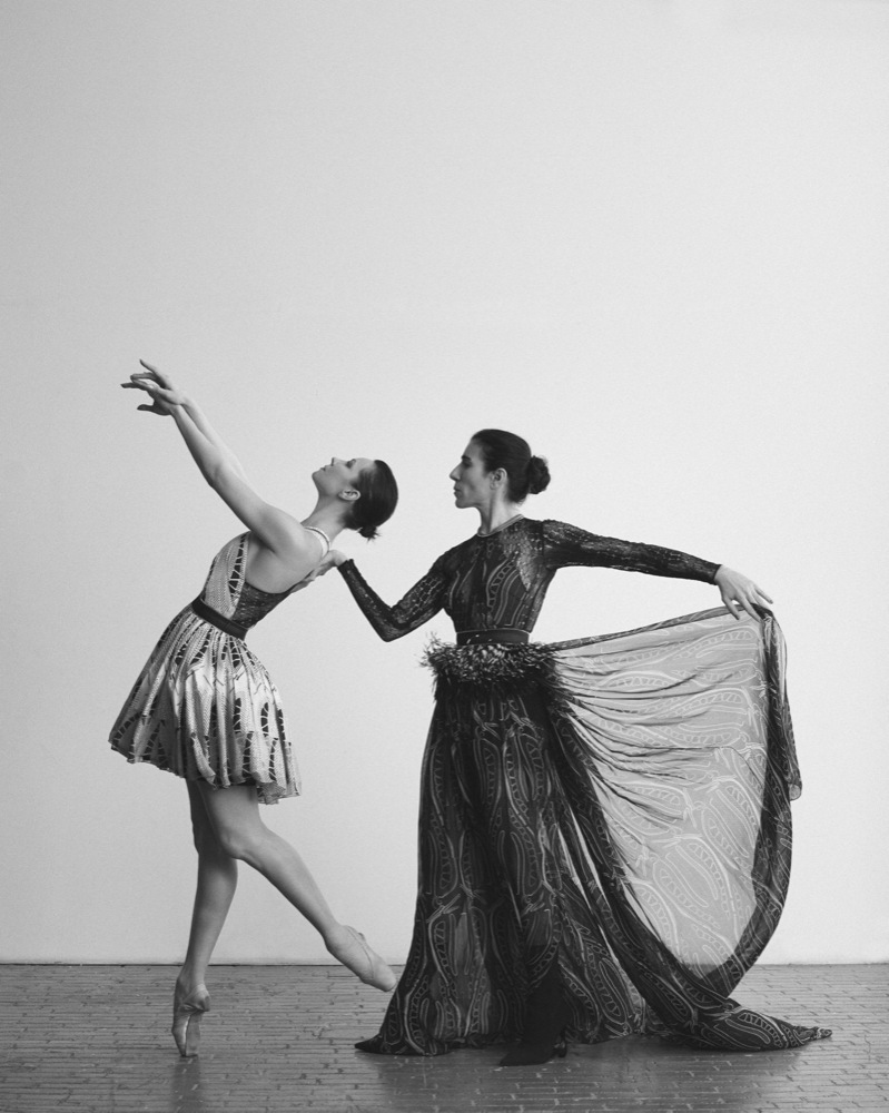 Blanca Li and Maria Alexandrova, photo by HANS NEUMANN, style by Marina Munoz - Interview Magazine