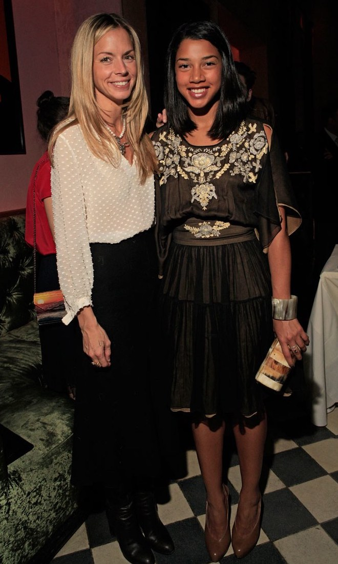 Hannah Bronfman wearing sophie theallet Collaboration with the Rose Bar.jpg