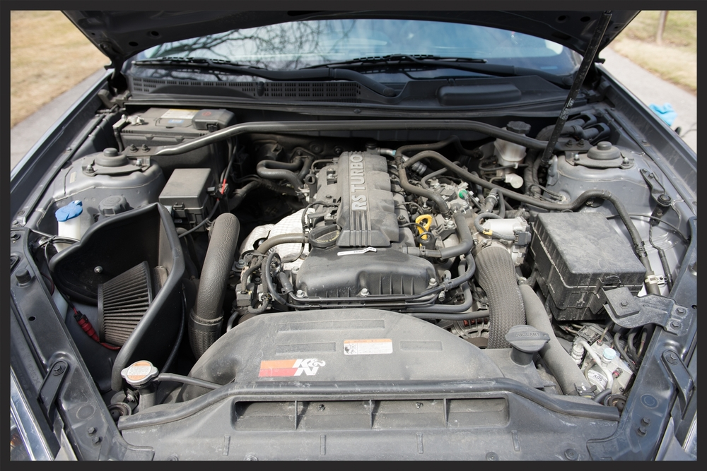 Genesis Coupe Engine Bay