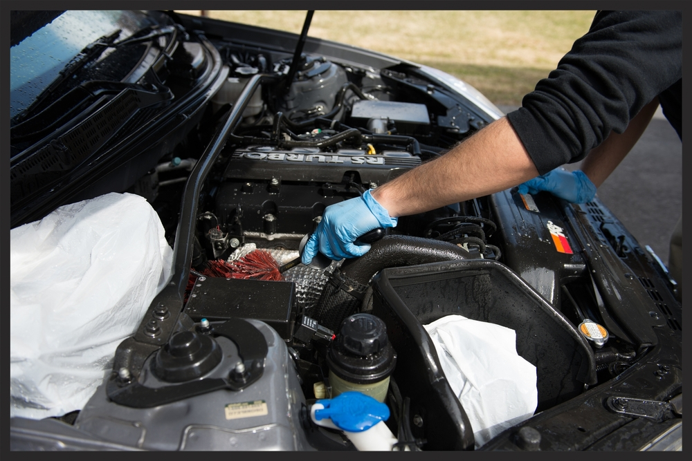 Do It Yourself Diy Guide How To Detail The Engine Bay To Award