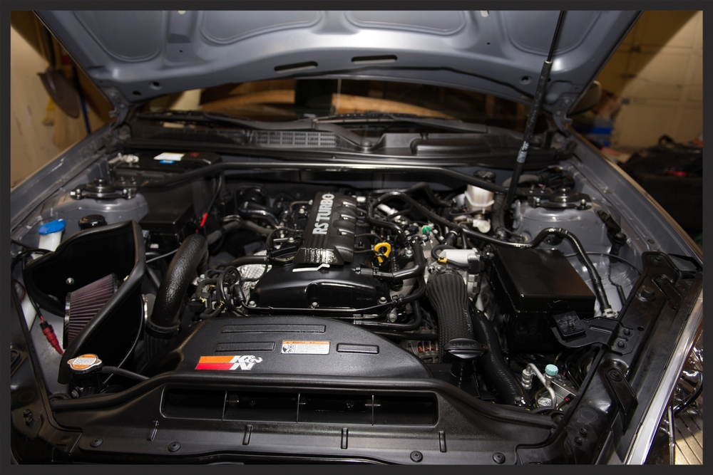 Genesis Coupe Engine Bay Detailing