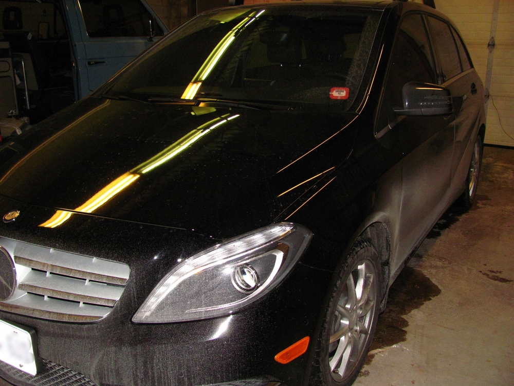 Mercedes-Benz B250 Dirty Car