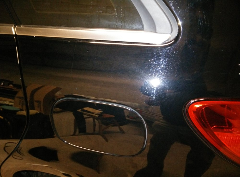 Mercedes Benz B250 Swils and Scratches