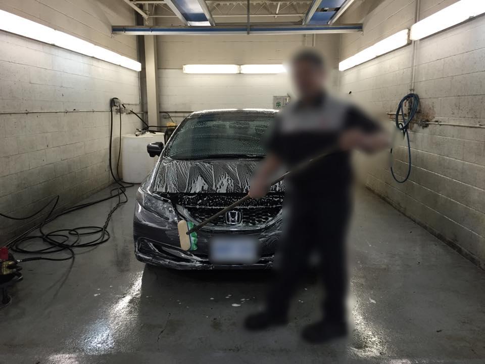 Improper Wash Technique
