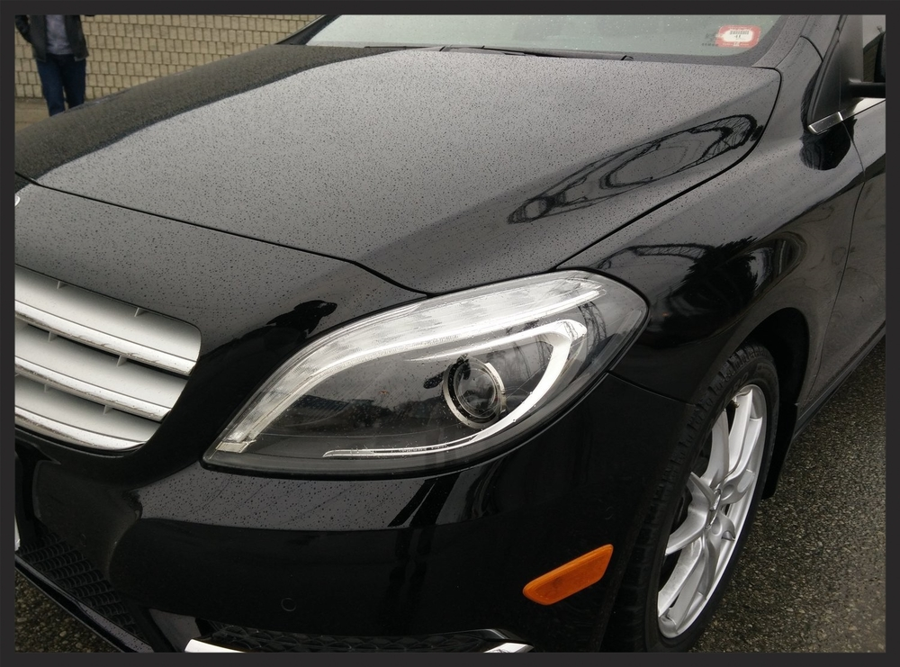 Mercedes Benz B250 22PLE Glass Coating Testimonial