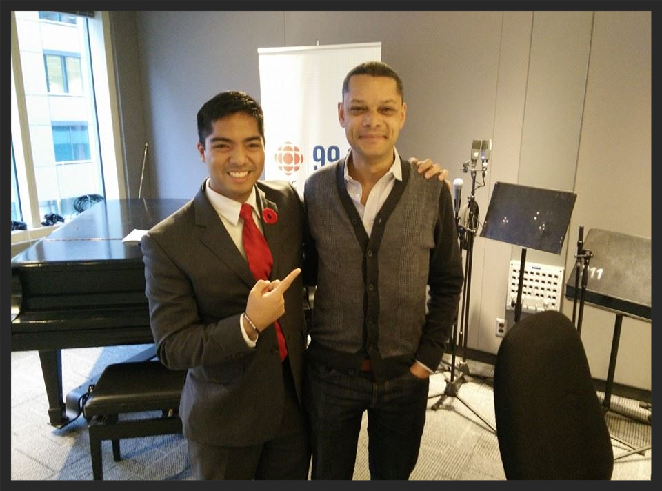 Lorenzo Escobal and Matt Galloway, CBC Metro Morning, Canada's largest morning radio show.