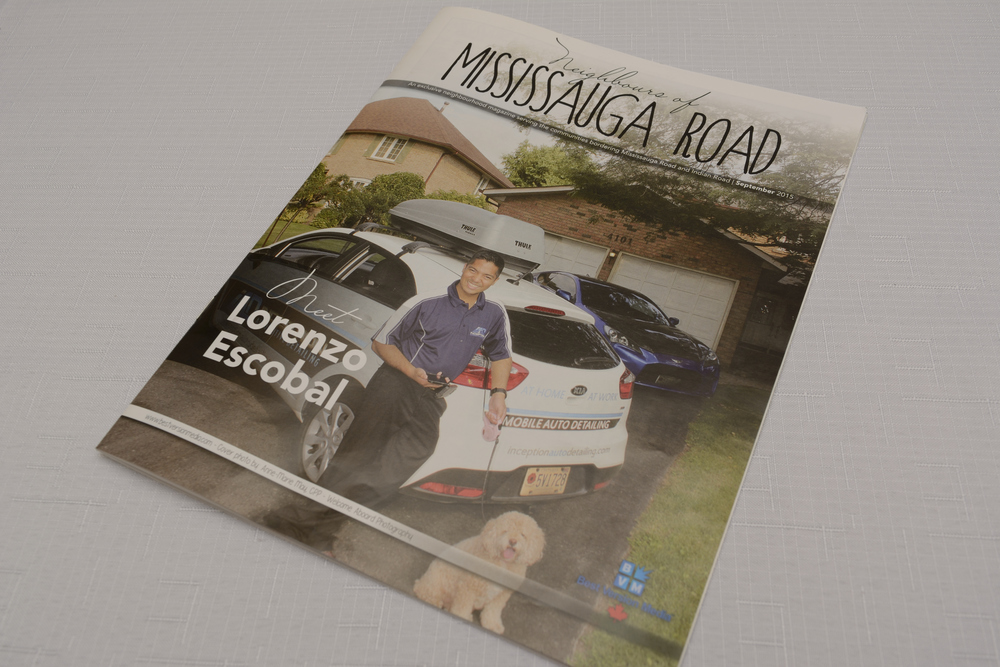 Lorenzo Escobal Cover Page Neighbors of Mississauga Road Inception Automotive Detailing