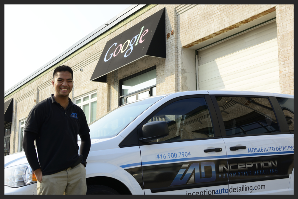 Inception Automotive Detailing Founder Lorenzo Escobal