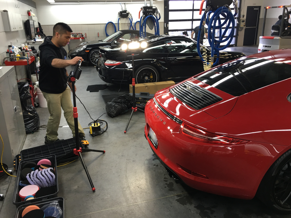 Porsche Centre Oakville Inception Auto Detailing