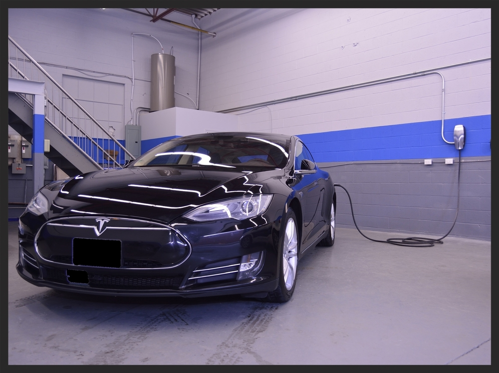 Tesla Model S Destination Charging Inception Auto Detailing