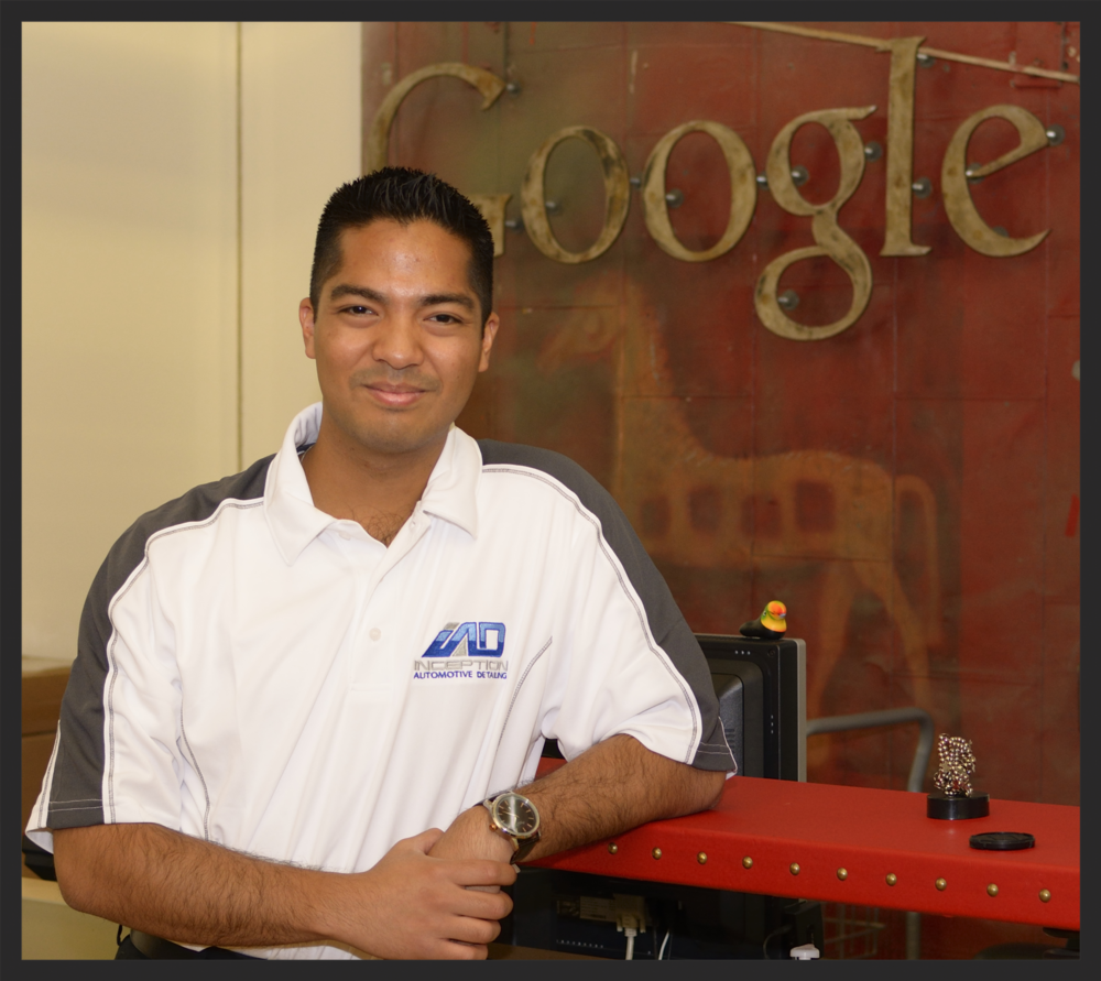 Lorenzo Escobal, Founder of Inception Automotive Detailing