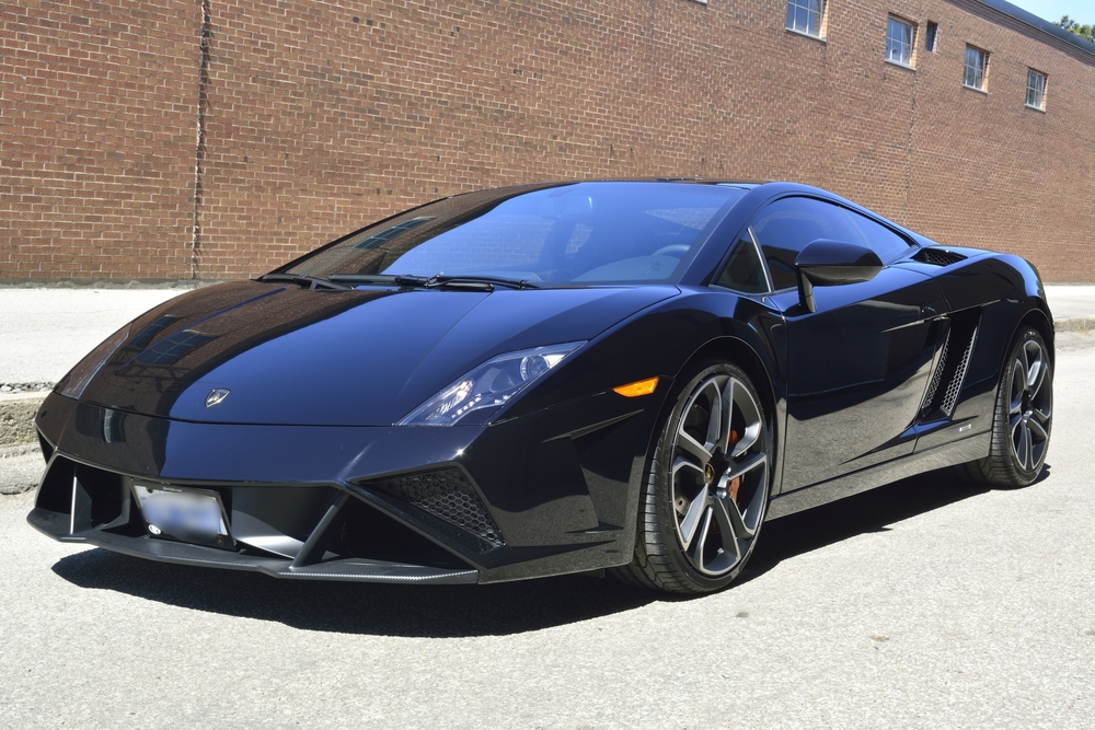 Lamborghini Gallardo 22PLE Glass Coating Paint Protection Inception Auto Detailing