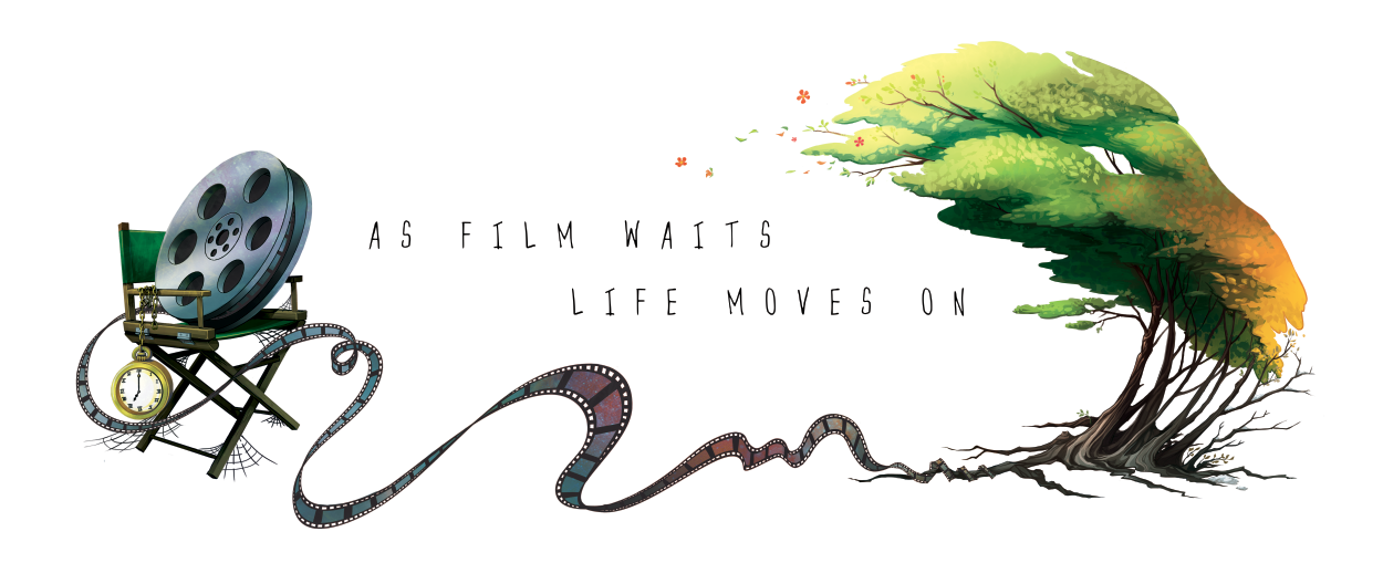 As Film Waits, Life Moves On