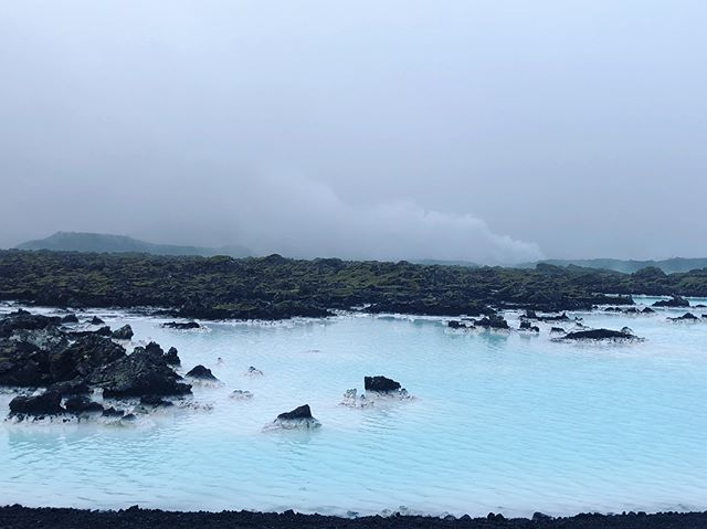 It feels as if I am on another planet, almost can't even process what I am seeing. Cannot wait until I get to dip! #bluelagoon #iceland