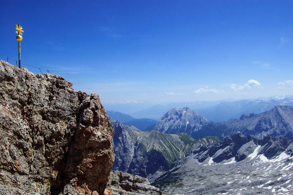 Peak of the Zugspitze