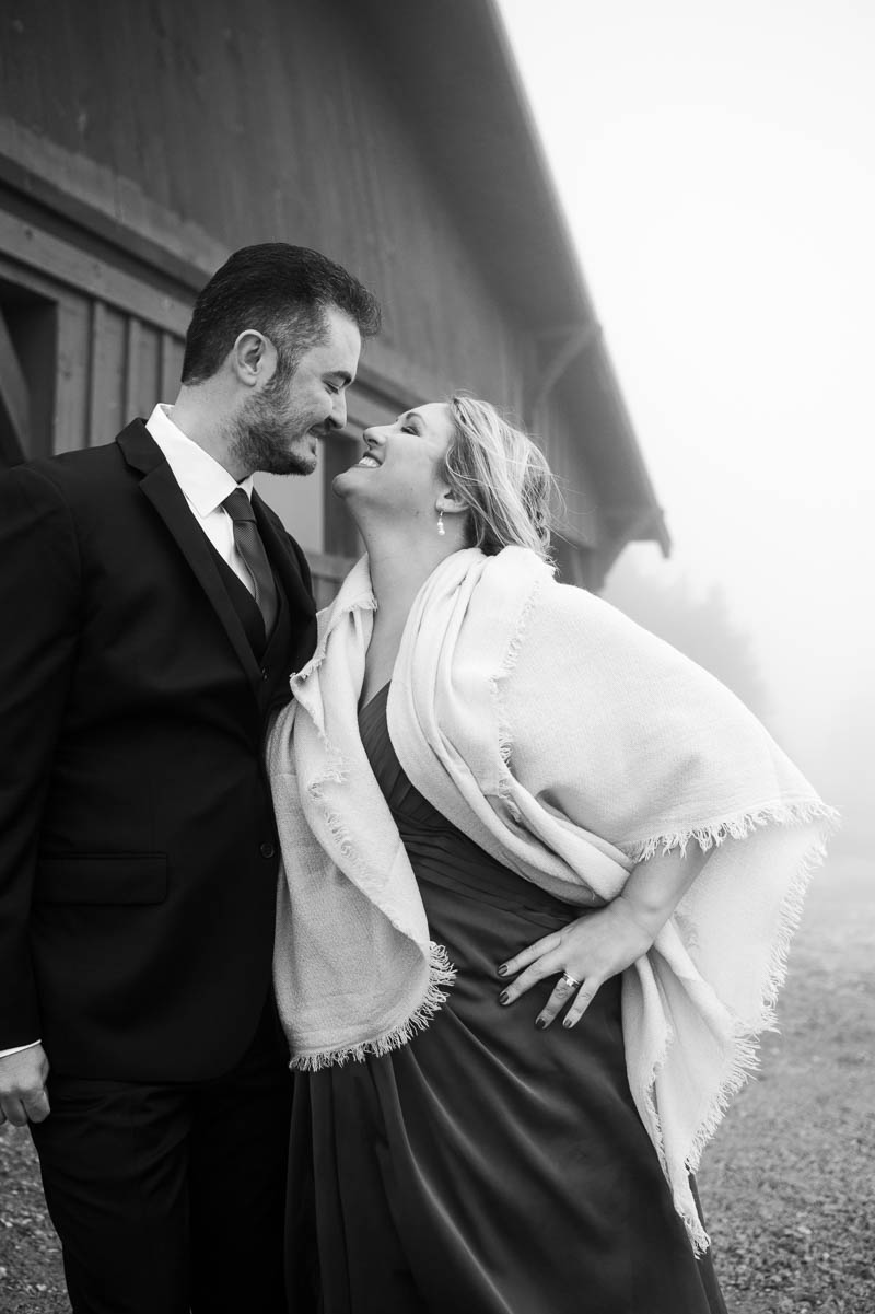 stratton vermont weddng couple portrait