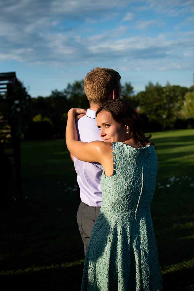 mansfield barn engagement portrait