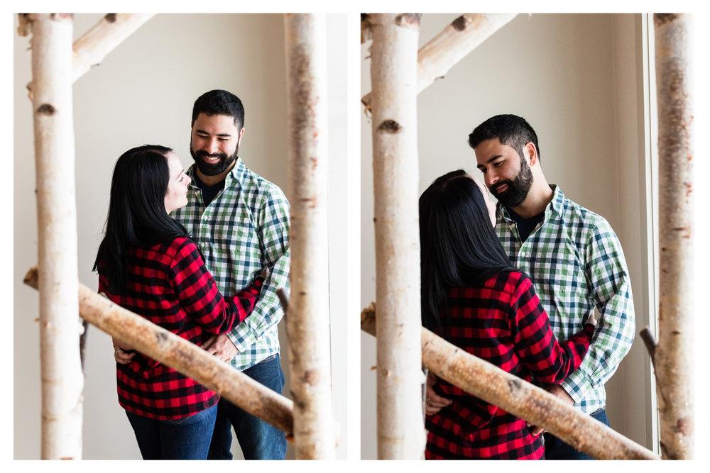 vermont couples portrait
