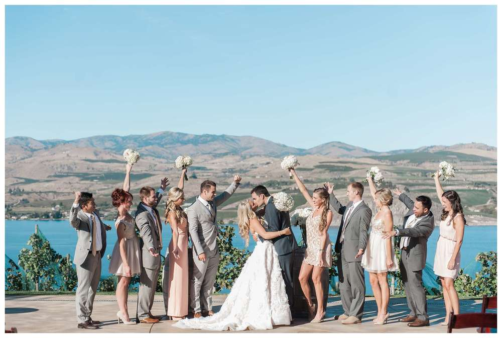 Karma Vineyard Chelan Wedding Photographer