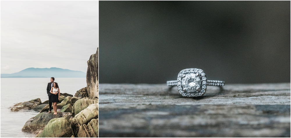 Larrabee State Park Engagement Photoshoot