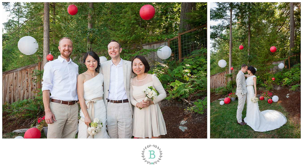 Bellingham Island View Chinese American Wedding
