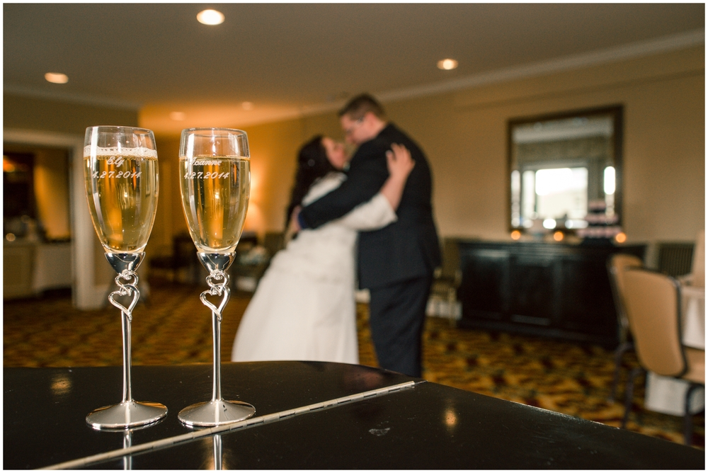 Sorrento Hotel WEdding by B. Jones Photography. Seattle Wedding Photographer