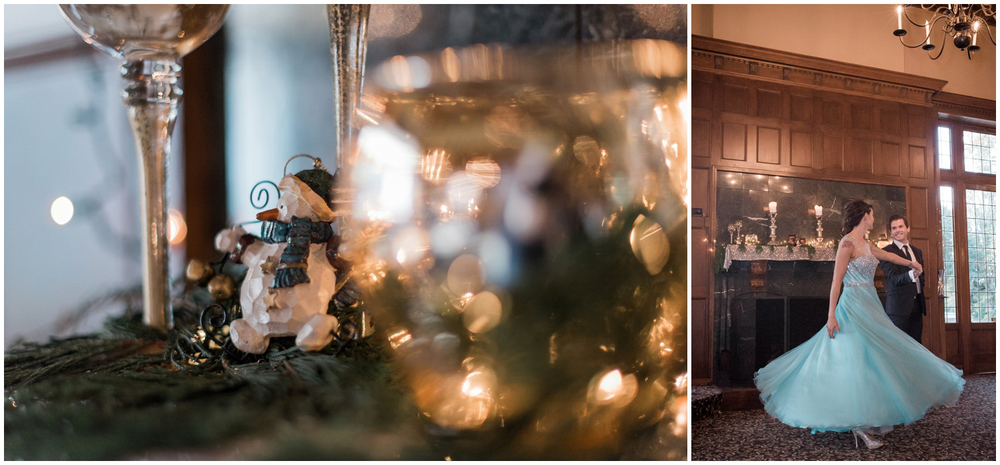 Christmas Morning Proposal at Lairmont Manor| Seattle Wedding Ph