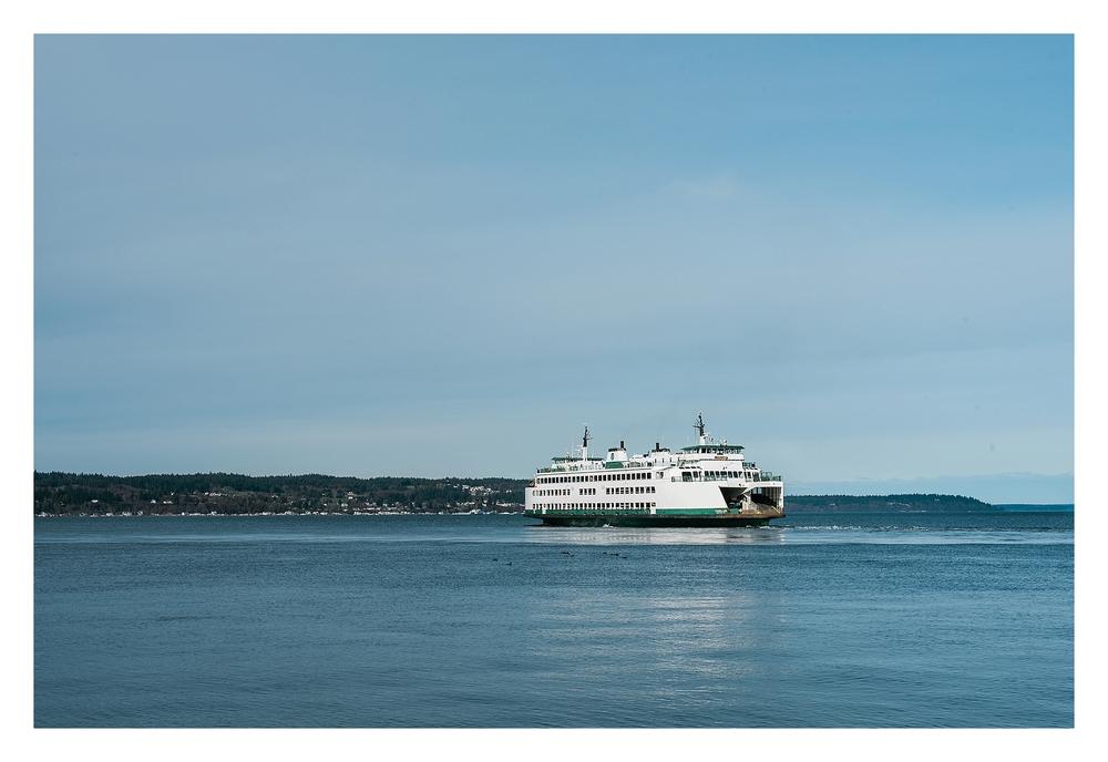 B. Jones Photography - Mukilteo Lighthouse Washington Ferry