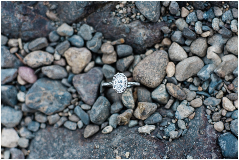 Snoqualmie Falls Engagement Wedding. Salish Lodge Engagement. River. Pacific Northwest. Proposal. Engaged. Halo Ring