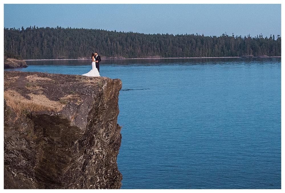 Mermaid themed wedding. San Juan island. Orcas Island Wedding. Sequin Table Cloths. Seashalles. Mint. Turquoise, Teal, Gold. Chavari Chairs. Pearls. Moonlight. Mastin Labs. Fuji 400h. Roche Harbor Wedding. Rosario Resort Wedding.