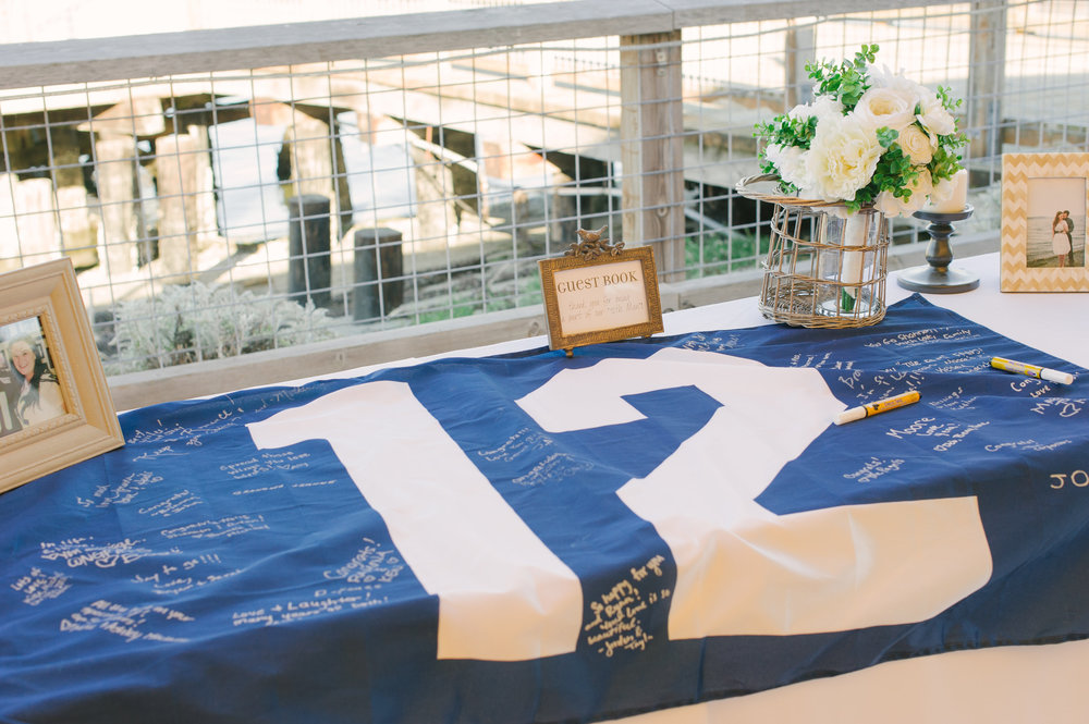 Seahawk Wedding Inspiration