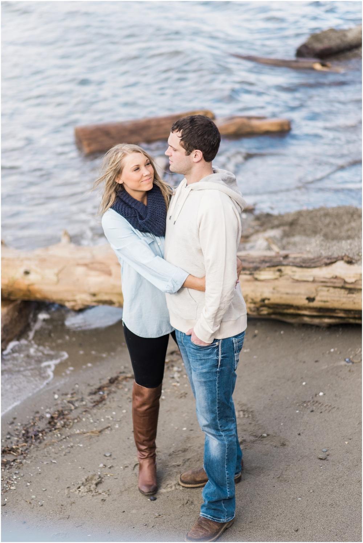 Kayak Point Engagement. Snohomish Engagement Photographer.