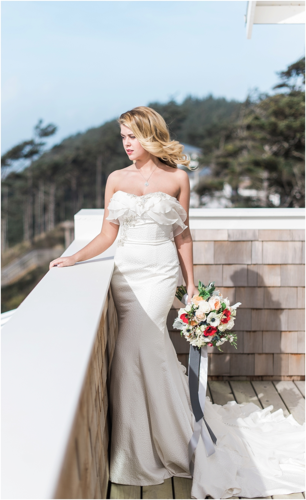 Seabrook nautical fine art wedding. Hair and makeup by Pacific Brides