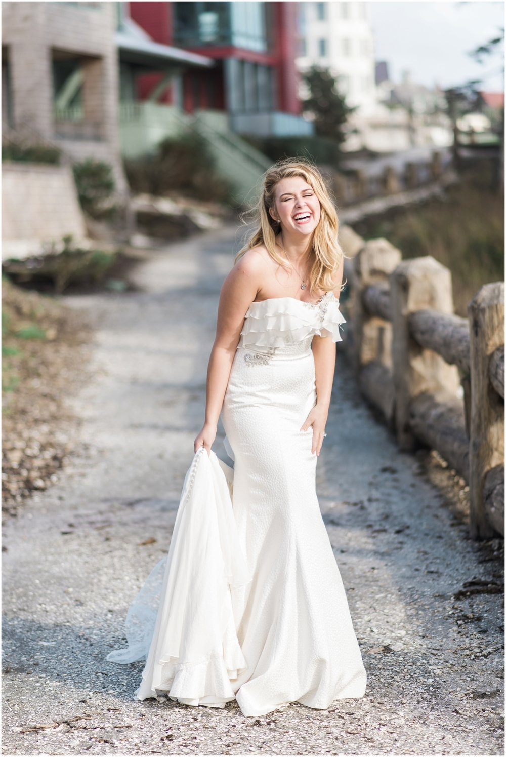 Anny Lin MILLICENT Style#14208 ruffled Wanderlust adventure coastal wedding at Seabrook