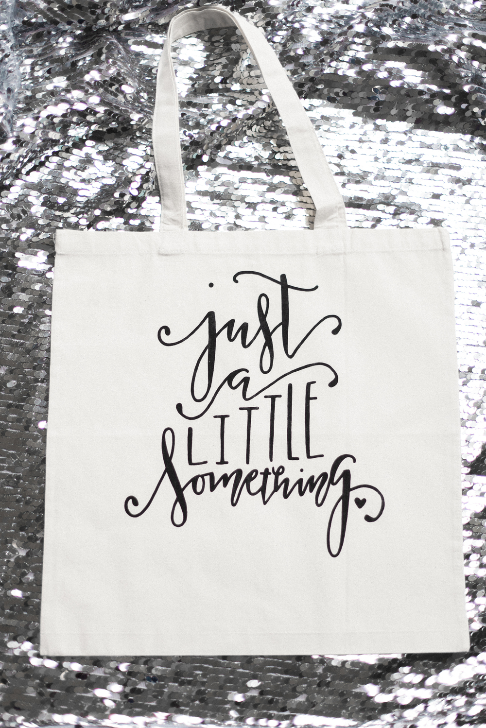 """Just a little Something"" Tote Bag from the Dream State Shop"