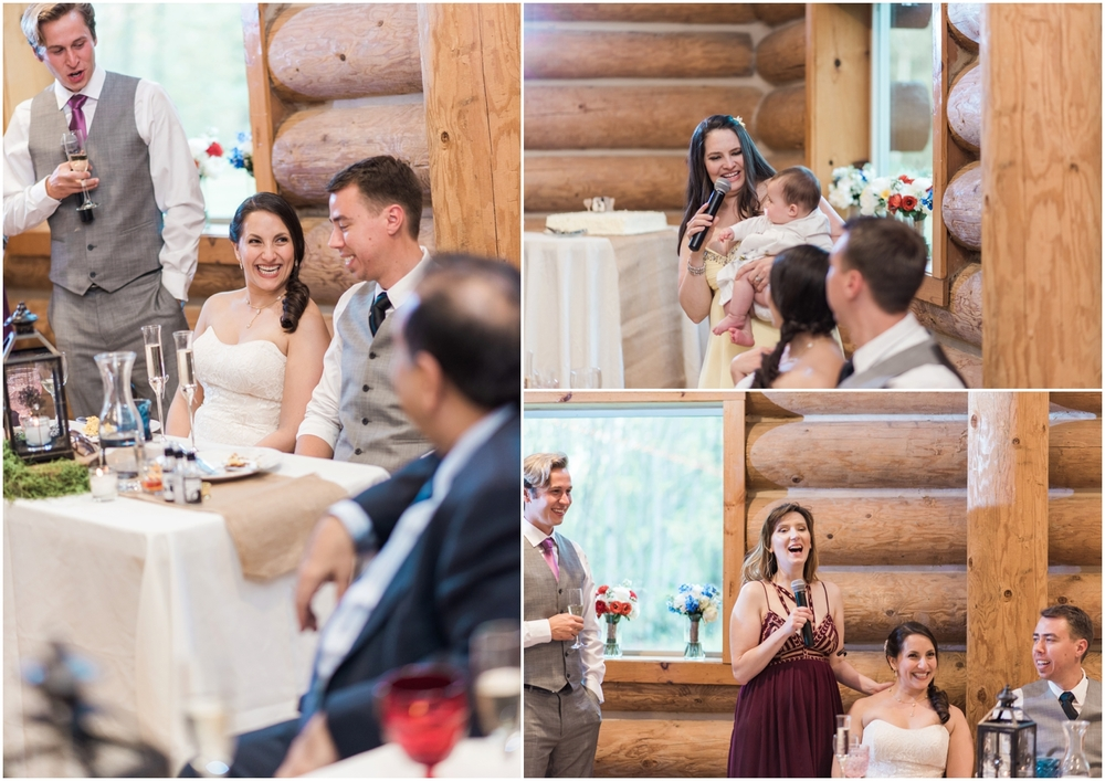Wallace Falls Lodge WEdding. Seattle wedding Photographer. Rustic Rainbow Wedding.