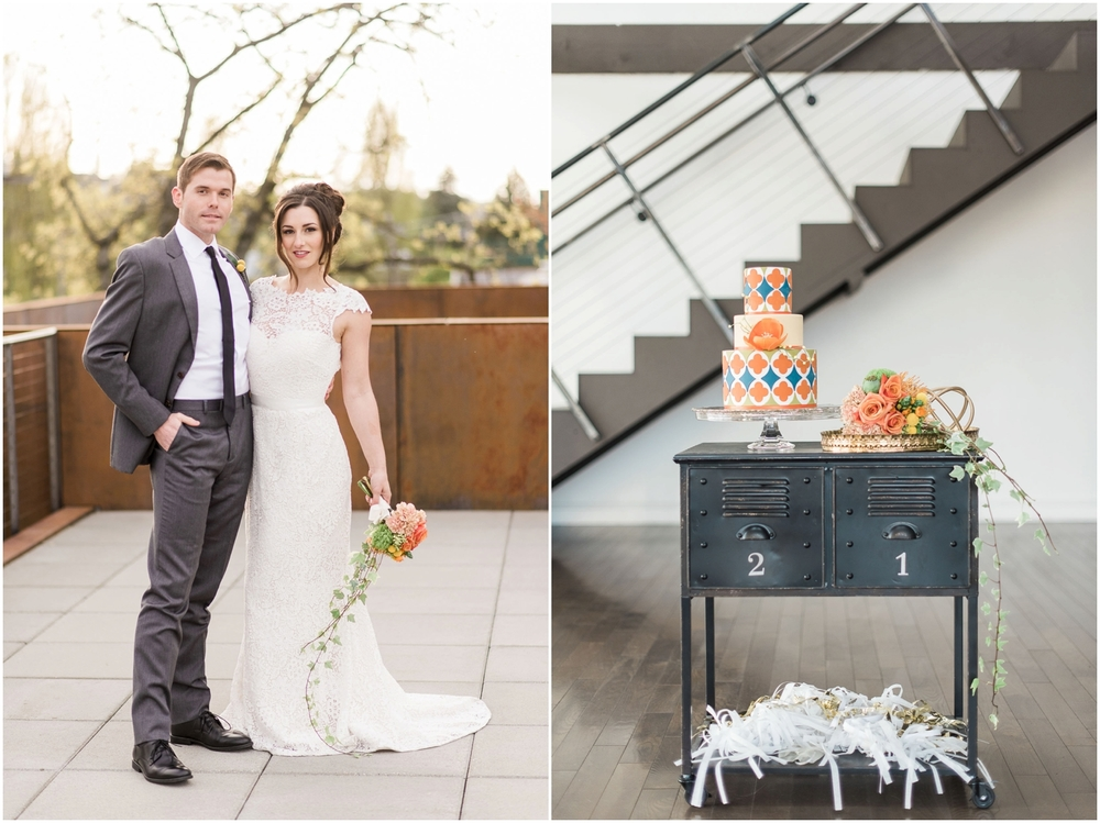 Modern Urban Fremont Foundry Seattle Wedding
