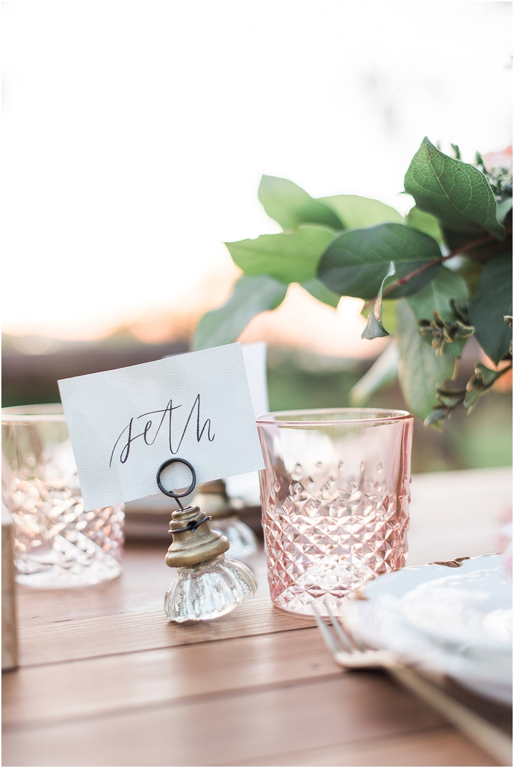 Private Estate Wedding in an Orchard { Inspired by Water Color ...