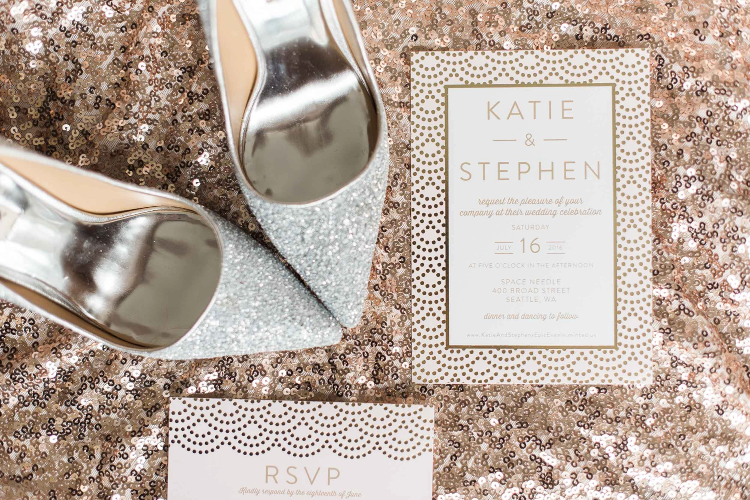 Stephen & Katie\'s Seattle Space Needle Wedding — B. Jones ...