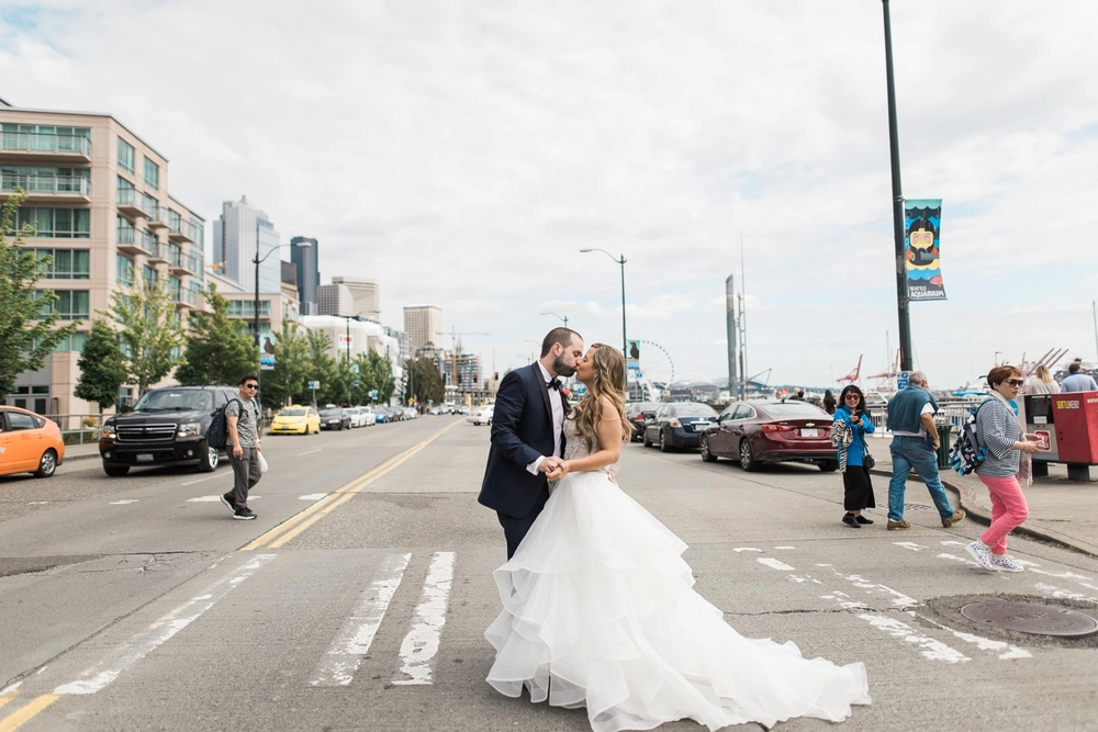 Katie and Stephens Seattle Space Needle Wedding
