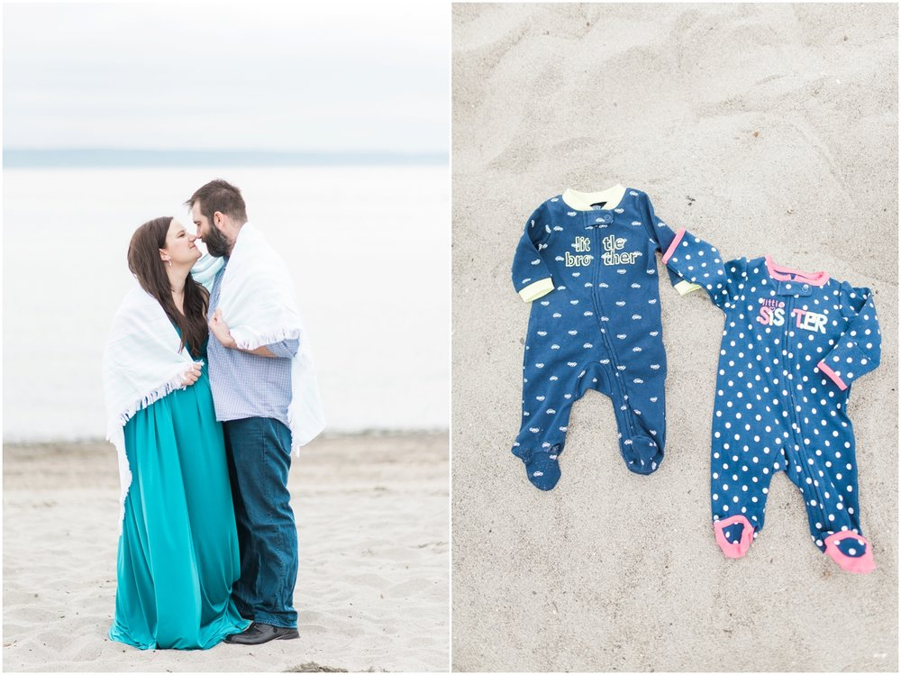 Beach Maternity Session