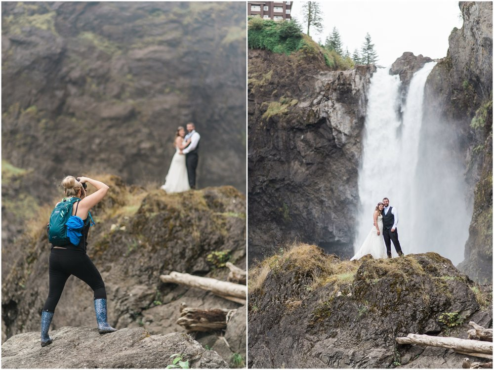 Snoqualmie Falls Wedding at Salish Lodge