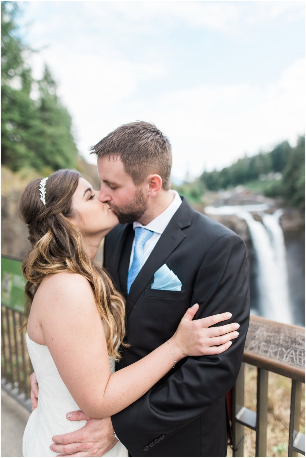 Kristy and marks salish lodge wedding at snoqualmie falls