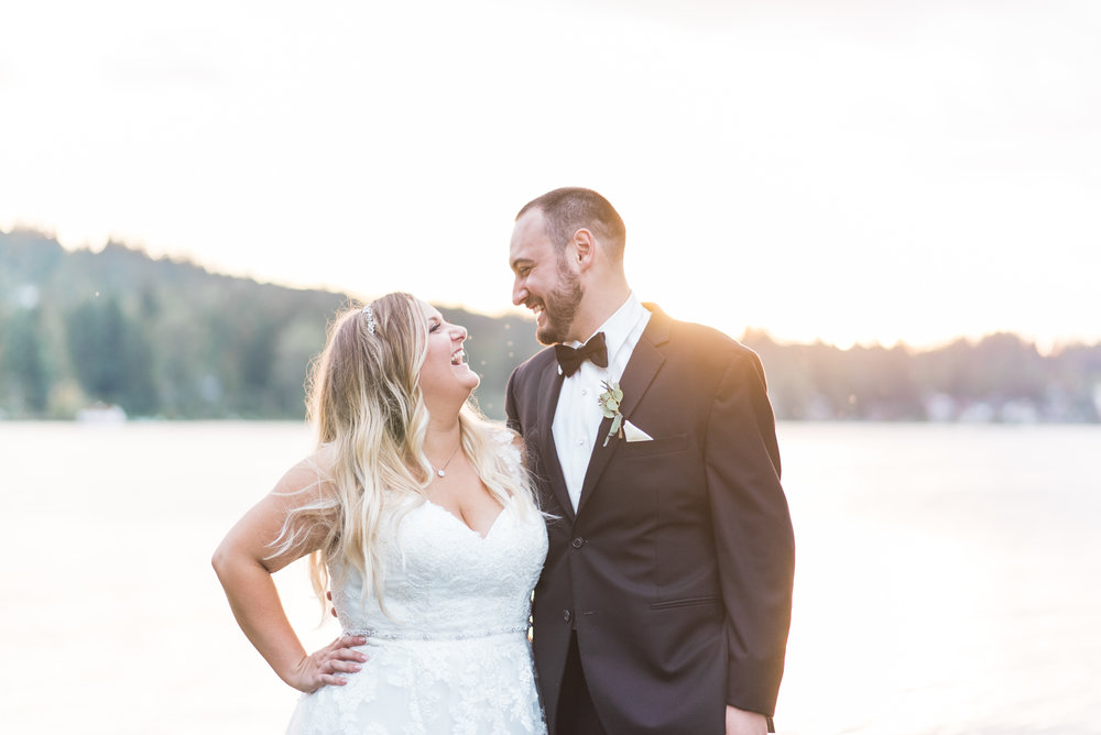 Lake Whatcom Waterfront Tent Wedding. Pablo and Emily. Bellingha