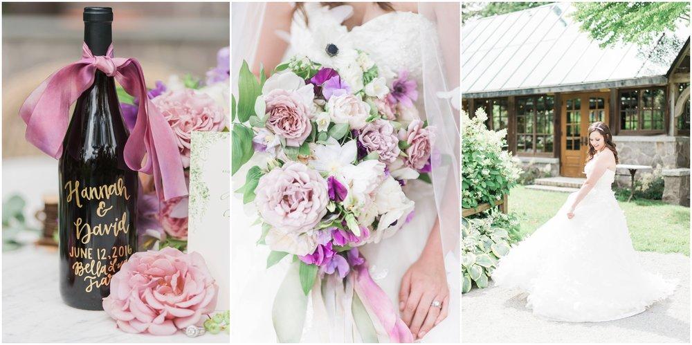 Flowers: Bella Fioiri | Calligraphy: Snohomish Rental Co | Gown: MeaMarie Bridal | Venue: Bella Luna Farm