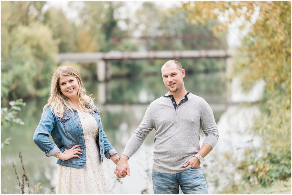 Snohomish Engagement with Hot Air Ballons and Vintage Planes