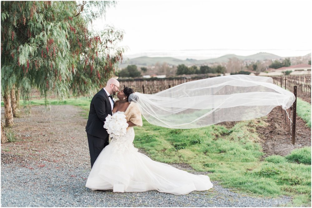 Casa Real Wedding, Destination Winter Wedding, Vineyard Wedding