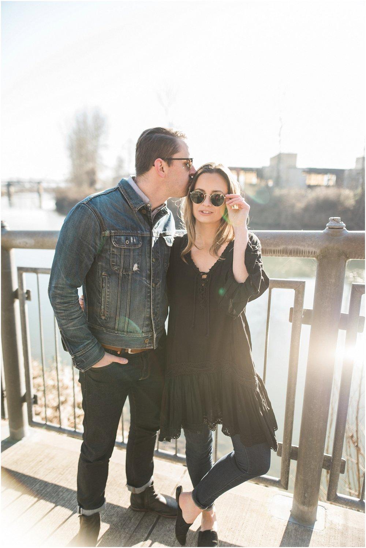 Kris Orlowski engagement photos with Alex