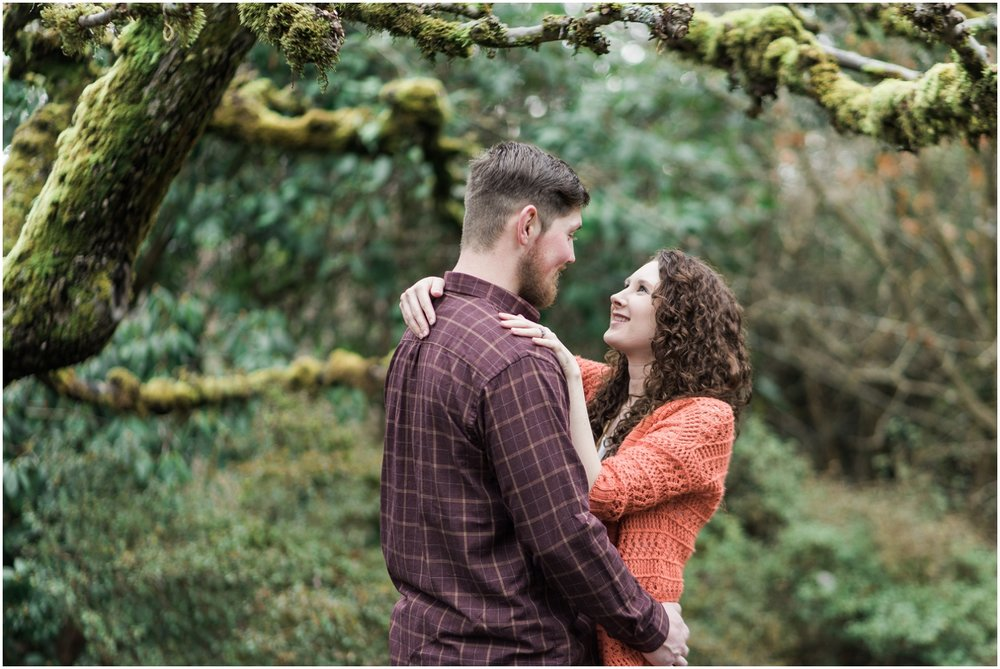 Robinswood House, Bellevue Engagement, Family Engagement Session, Spring Engagement, Fall Colors, Rustic, B. Jones Associates