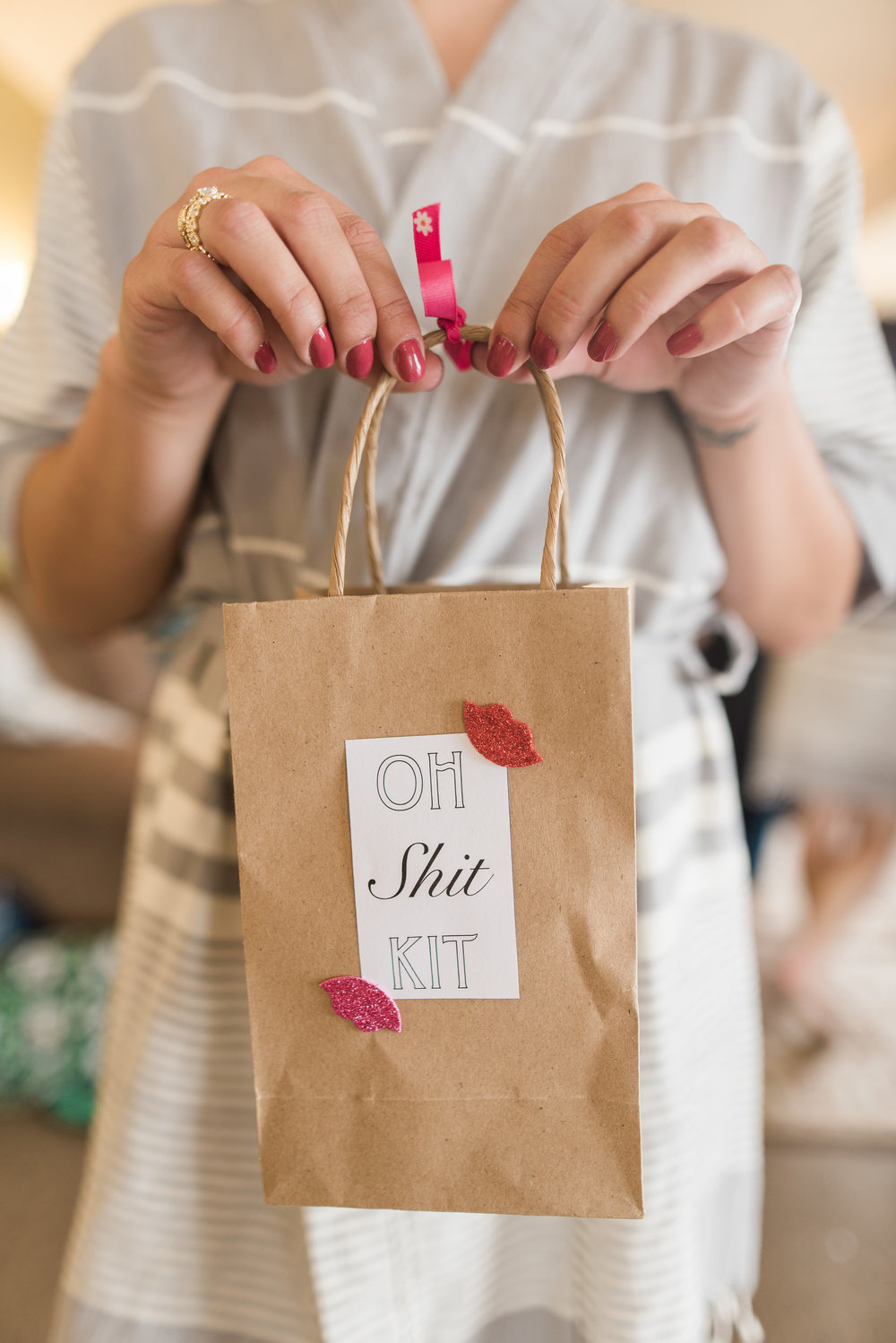 What Is A Disaster Bag And Why Every Bride Needs One Seattle